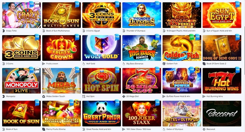 Lucky Bird Casino Spiele