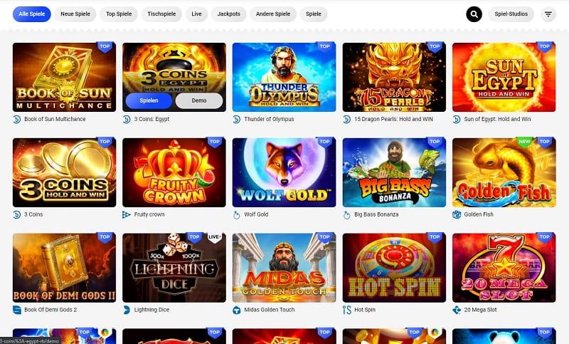Slottica Casino Spiele